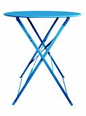 Folding Table Blue