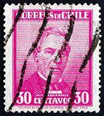 Postage Stamp Chile 1934 Jose Joaquin Perez Mascayano