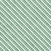 Green Marijuana Leaf And Stripes Pattern Repeat Background