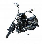 black chopper