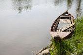 Old Boat In The River