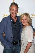 LOS ANGELES - AUG 22:  Michel Gill, Jayne Atkinson at the Television Academy�?�¢??s Producers Pee