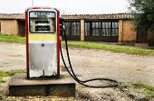 Abandoned Gas Pump In The Italian Countryside
