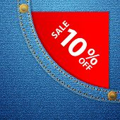 Denim Pocket And Sale Ten Off