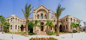 image of carmelite  - A 19th century Carmelite monastery building in Haifa Israel - JPG