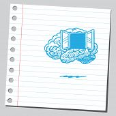 Brain with window