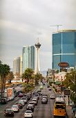 Las Vegas Boulevard In The Morning