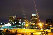 Night View Of Colorado Springs Downtown
