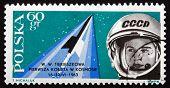 Postage Stamp Poland 1963 Valentina Tereshkova