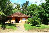 Residential house with garden, Sri Lanka