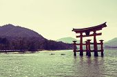 Floating Gate In Miyajima