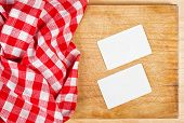 Restaurant Cook's Business Cards Template