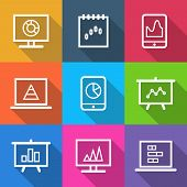Business Infographic Charts Icons