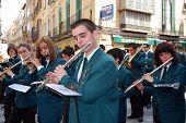 Marching band, Malaga.