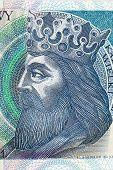 Kazimierz III Wielki King of Poland - portrait