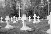 stock photo of life after death  - A cemetary in Alabama - JPG