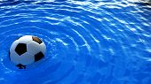 Soccer Ball On Water