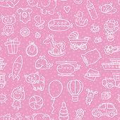 Girl pattern toys