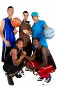 Interracial Basketball Team