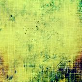 Grunge background with space for text or image. With different color patterns: yellow (beige); brown; green; blue