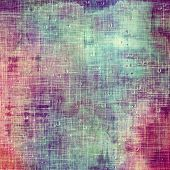 Old Texture or Background. With different color patterns: purple (violet); blue; cyan; pink
