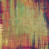 Old texture with delicate abstract pattern as grunge background. With different color patterns: purple (violet); yellow (beige); red (orange); brown; green