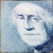 Instagram filtered image of George Washington