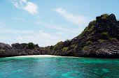 Sea Scene Desert Island