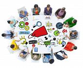 Diversity Casual People Branding Meeting Communication Concept