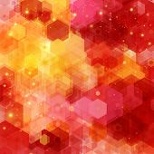 Bright hexagon pattern for Your design.
