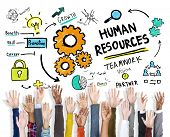 Human Resources Employment Job Teamwork Hands Volunteer Concept