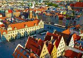 pic of tenement  - Wroclaw town market - JPG