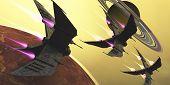 Saturn Moon Blast