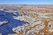 Canyonlands National Park, Utah In Winter