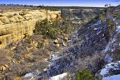 Mesa Verde National Park, Colorado In Winter