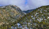 High Mountains Of Colorado During Winter