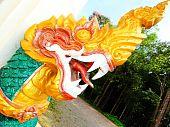 Naga statue.