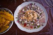 image of plantain  - Fish ceviche - JPG