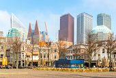 picture of prime-minister  - Downtown of The Hague Netherlands - JPG