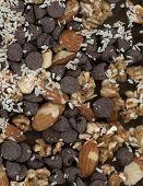 Coco chocolate de amêndoa