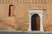 foto of ferrara  - Beautiful architecture in the downtown of Ferrara - JPG