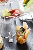 pic of canapes  - tasty canape - JPG