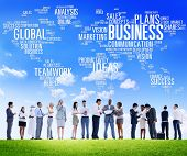 pic of enterprise  - Business Global World Plans Organization Enterprise Concept - JPG