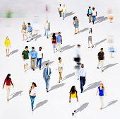 pic of diversity  - Diverse Diversity Ethnic Ethnicity Togetherness Variation Crowd Concept - JPG