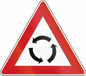picture of traffic rules  - Czech traffic warning sign - JPG