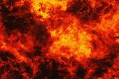 stock photo of infernos  - background of fire as a symbol of hell and eternal torment - JPG