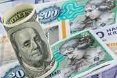 stock photo of currency  - danish crowns - JPG
