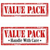 ������, ������: Value Pack stamps
