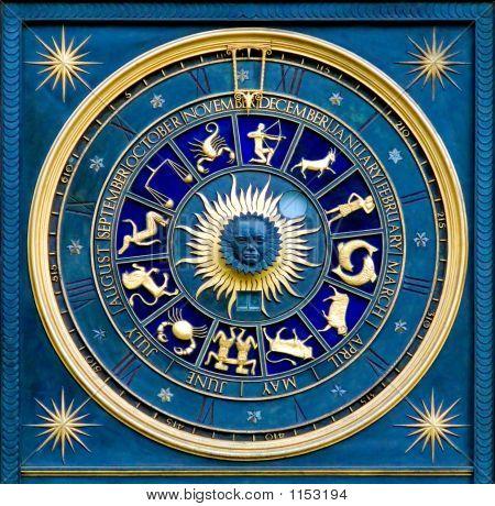 Постер, плакат: Знак зодиака, холст на подрамнике