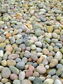 picture of rip-rap  - a lot of pebbles on the beach - JPG